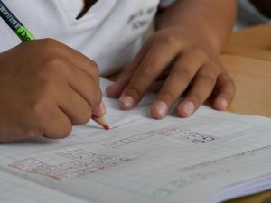 Dysgraphia in children